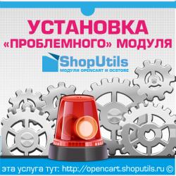Установка и настройка проблемных модулей OpenCart и ocStore